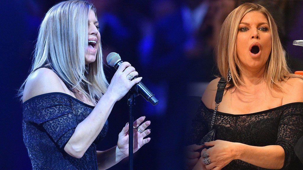 """Fergie se disculpa tras su desafine viral con el himno de Estados Unidos: """"Lo hice lo mejor que puede"""""""