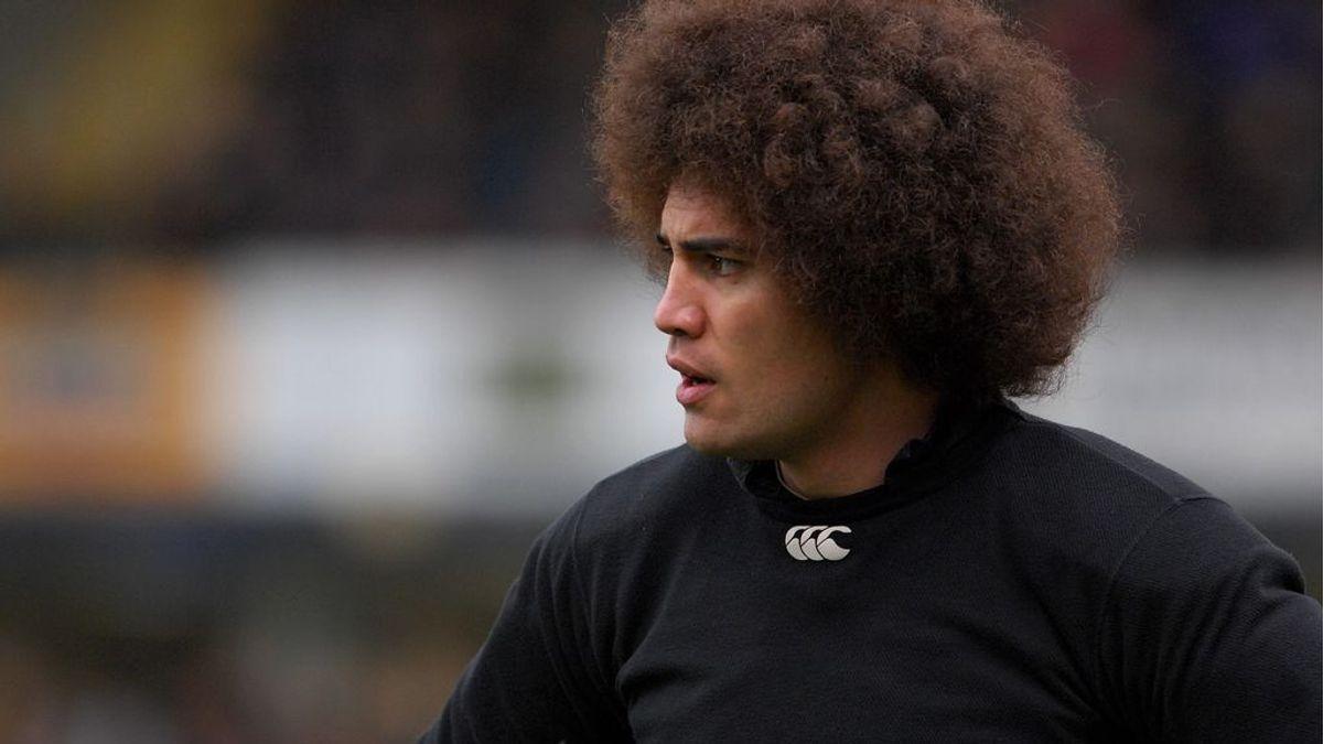 La tremenda brecha en la ceja de Dan Leo, ex capitán de rugby de Samoa