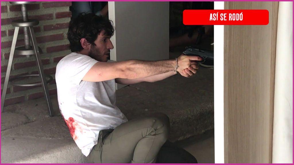 Al descubierto todos los trucos del tiroteo final de 'El Accidente'