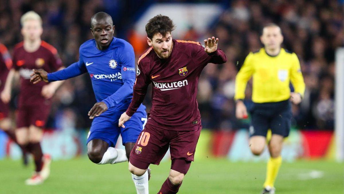 La foto histórica del Chelsea ante el Barça que no gusta nada en Inglaterra
