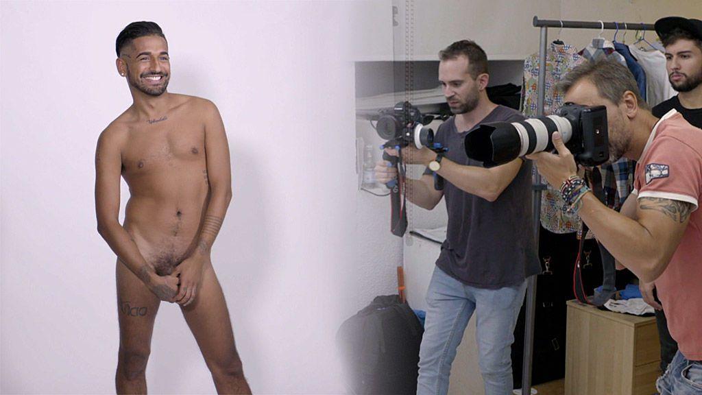 Evans consigue posar desnudo para la revista 'Shangay' y provoca el enfado de Duna