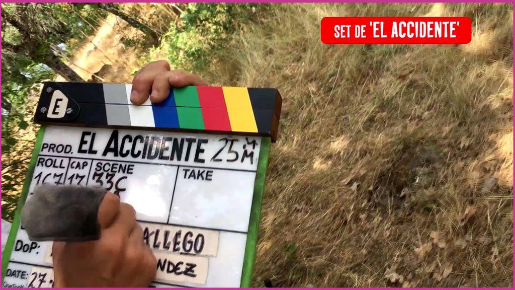 """Así se rodó la """"otra"""" muerte del final de 'El Accidente'"""
