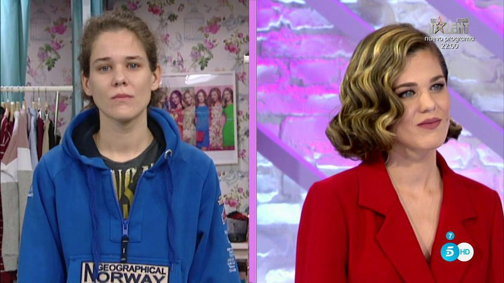 ¡¡WOW!! Patricia impacta al jurado y a ella misma con su gran belleza