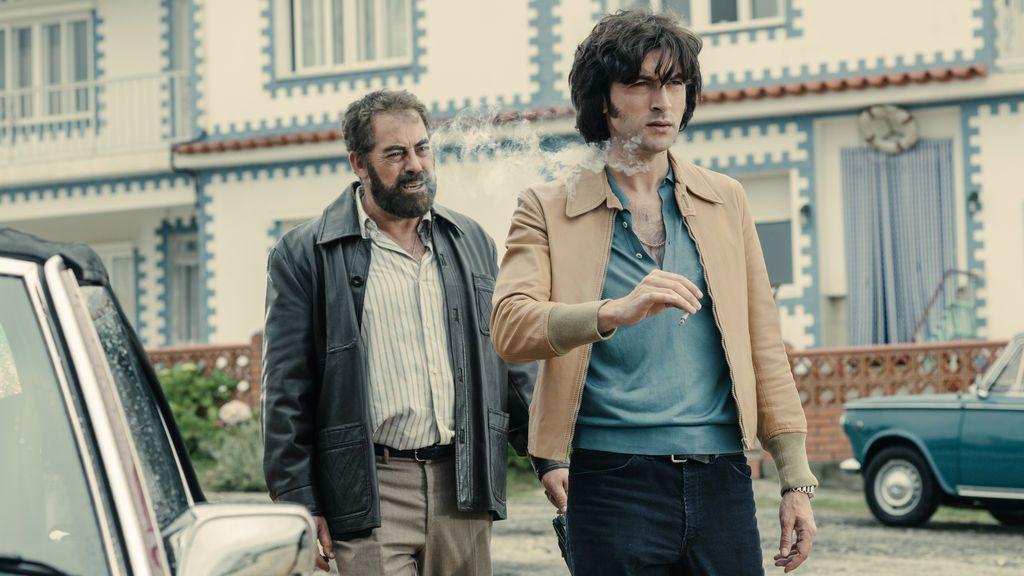Carlos Blanco  y Javier Rey interpretan a los narcotraficantes Laureano Oubiña y Sito Miñanco en 'Fariña'.