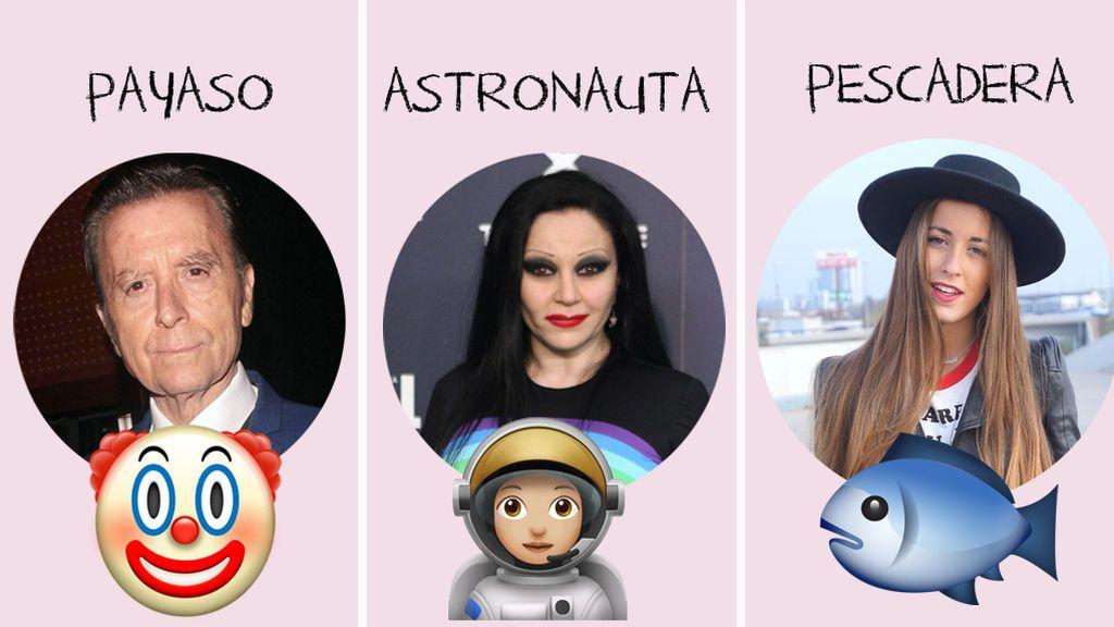Payasos, astronautas, pescaderas… ¿Qué querían ser de mayores los famosos cuando eran niños?
