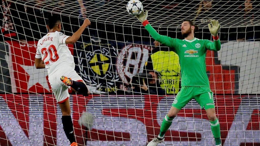 El Sevilla empata con el United (0-0) y se jugará el pase a cuartos de la Champions en Old Trafford