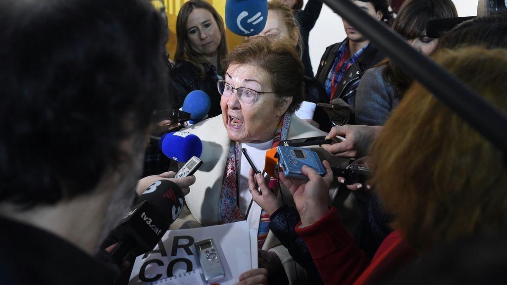 """La galerista Helga de Alvear: """"Supongo que alguien no quiere tener jaleo con Cataluña"""""""