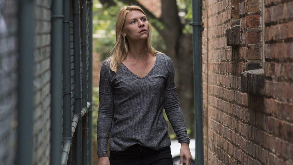 Carrie Mathison, en la séptima temporada de 'Homeland'.