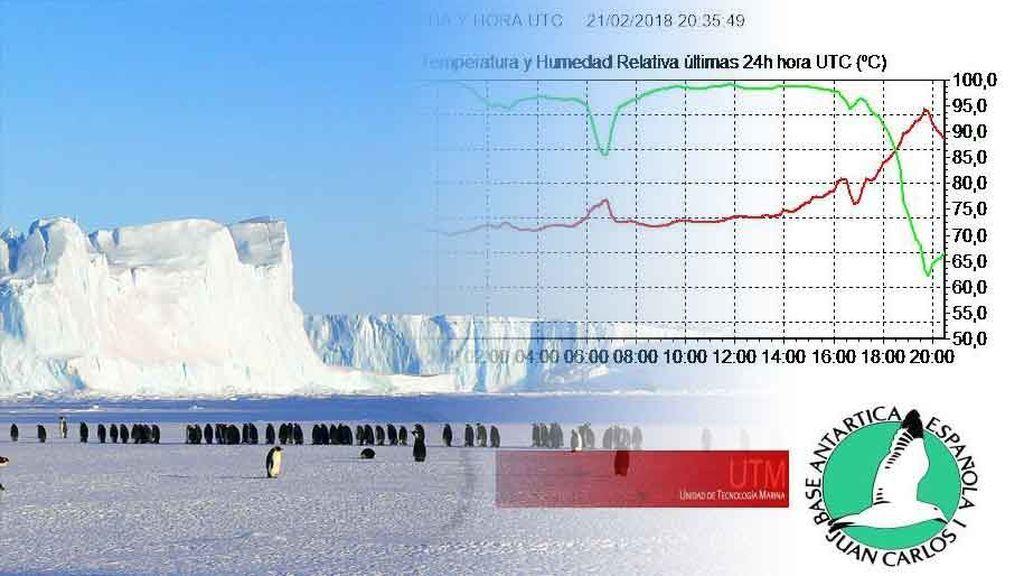 Récord histórico de temperatura en la Antártida: ¡10,3 grados!