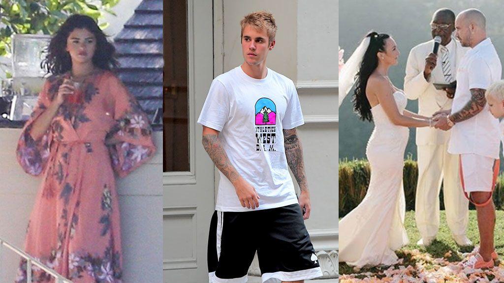 Su padre se casa de penalty, tendrá un hermano y está con Selena: el ajetreado 'updating' de Justin Bieber