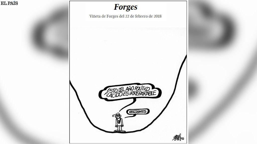 La última viñeta de Forges