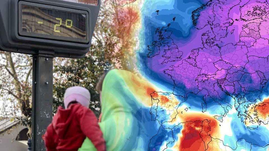 Cambio loco de tiempo la semana que viene: el vórtice polar se calienta y a ti te mandará frío