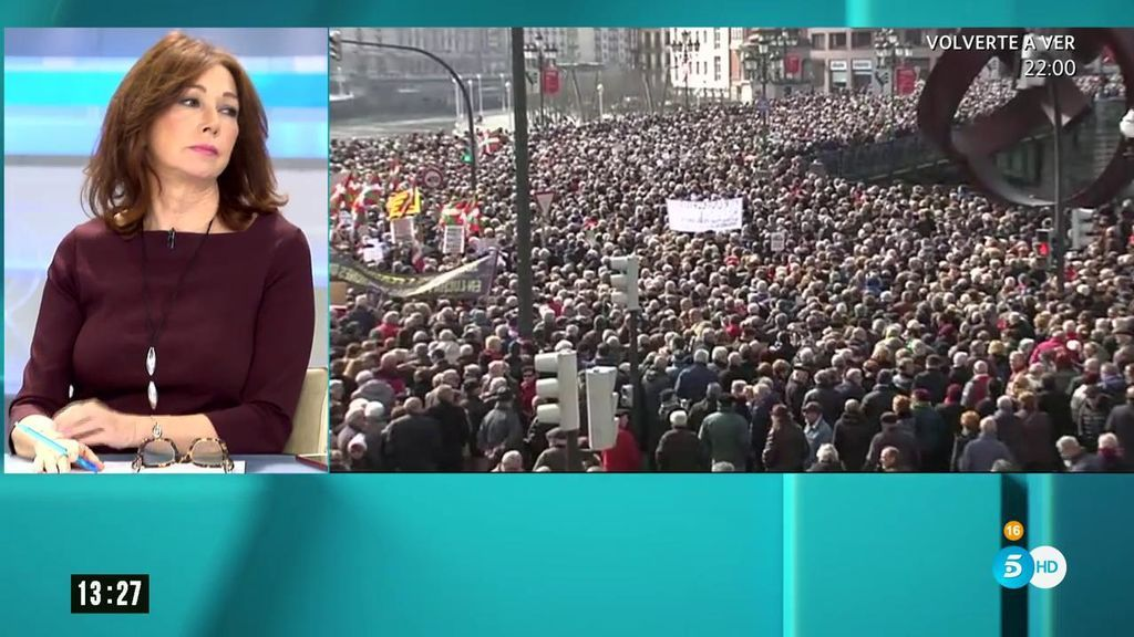 Manifestaciones de pensionistas