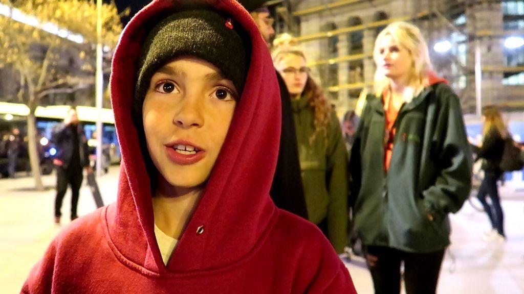 """Mario tiene 11 años y es skater: """"Empecé en la calle y conocí muchos amigos, no me parece bien que se prohíba"""""""