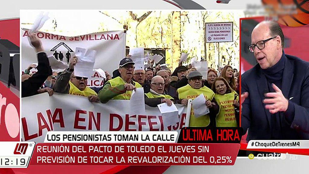 """Jaime González: """"Las pensiones van a subir"""""""