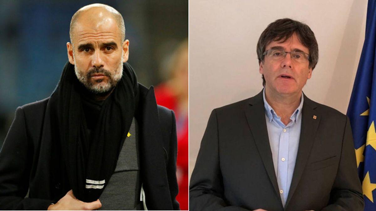 La Guardia Civil registró el avión privado de Pep Guardiola por si escondía a Carles Puigdemont