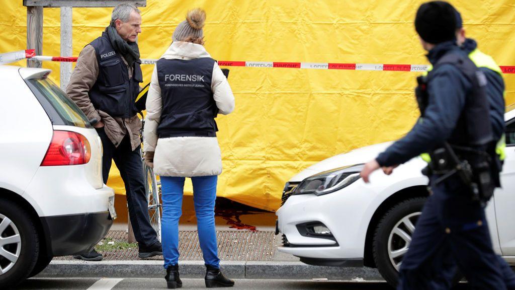 Dos muertos por un tiroteo en el centro de Zúrich