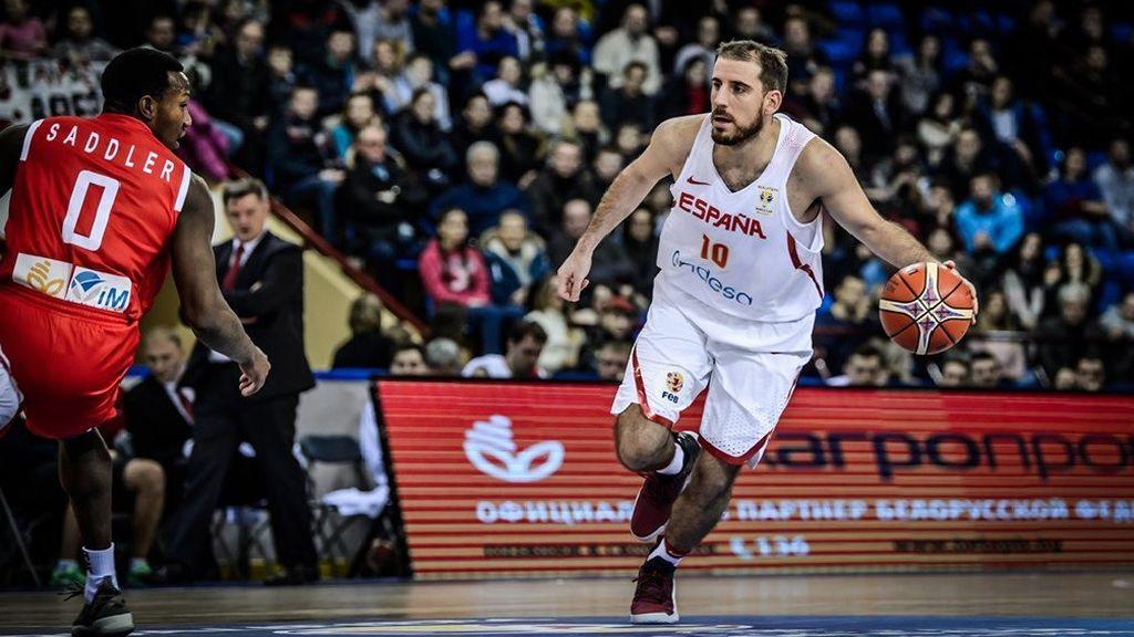 Quino Colom agota los últimos segundos y no da opción a Bielorrusia