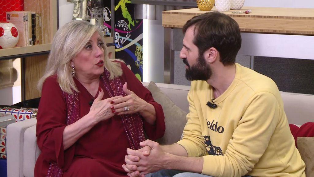 """La madre de Rodri: """"Rodri, como todos los tíos, tiene miedo a tener hijos"""""""