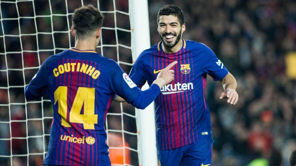 El Barcelona no afloja y pasa por encima del Girona (6-1)