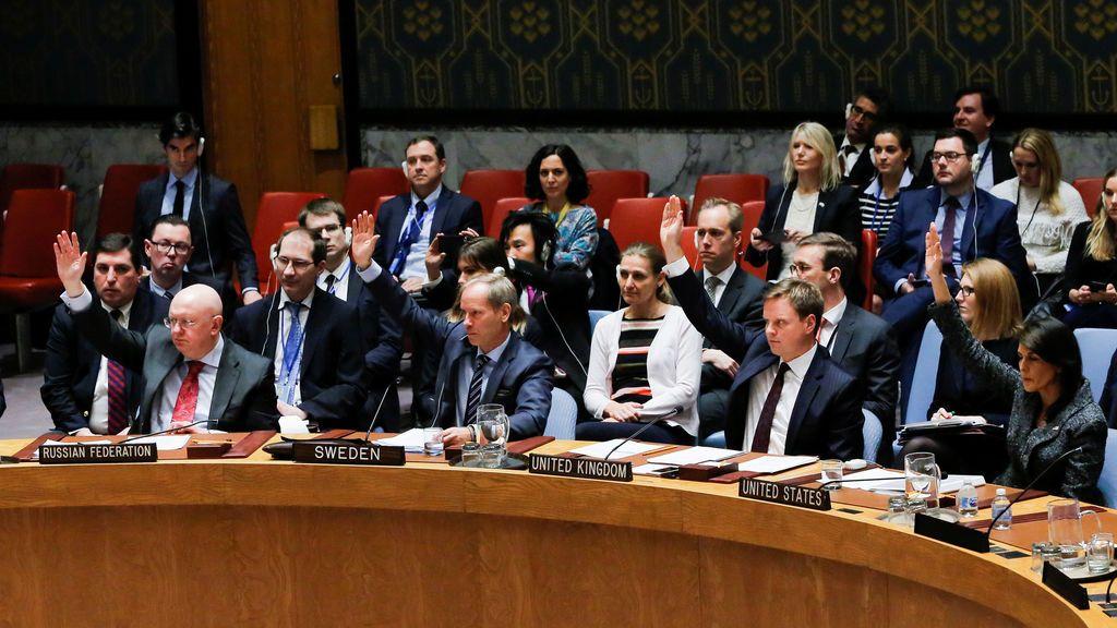 El Consejo de Seguridad de la ONU aprueba un alto el fuego humanitario de 30 días para Siria