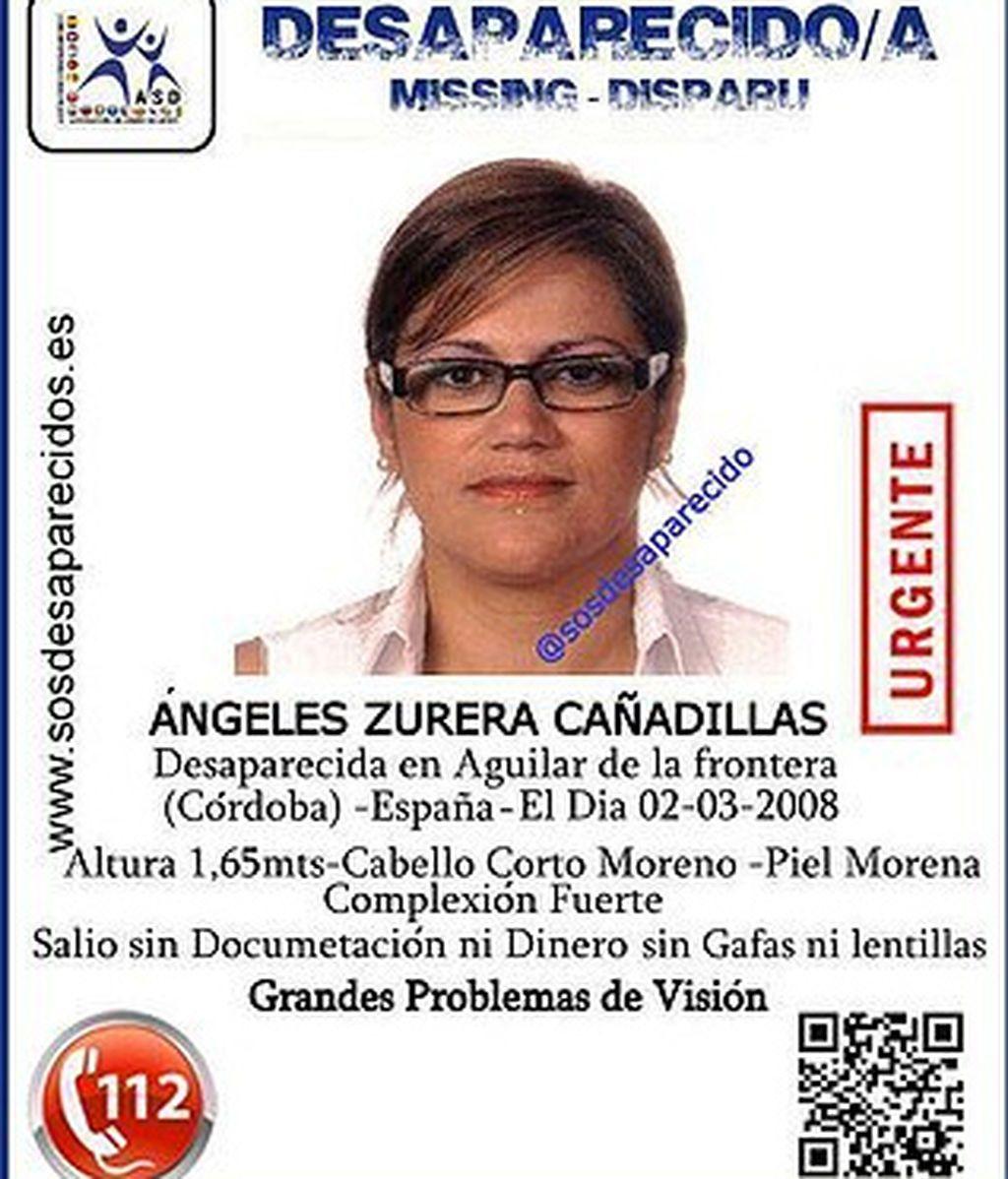 La familia de Ángeles Zurera, desaparecida hace diez años, confía en nuevas pruebas