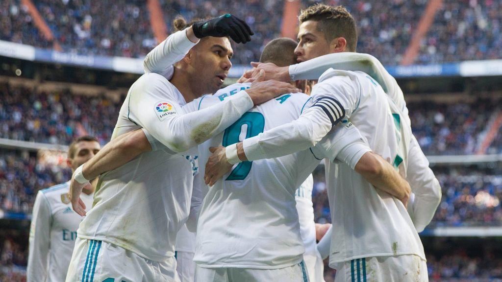 La BBC vuelve a funcionar e ilusiona al Bernabéu (4-0)