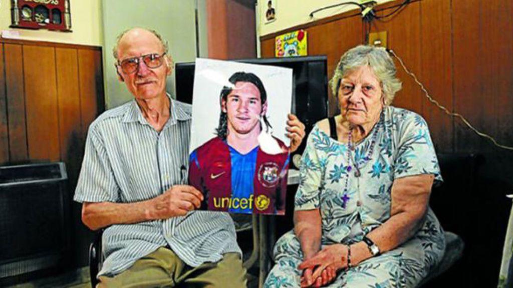 Muere el abuelo materno de Messi a los 80 años