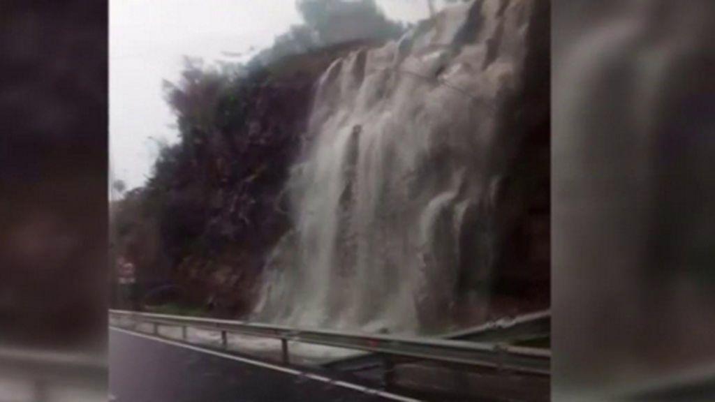 Lluvia en Canarias