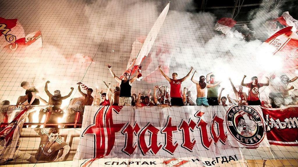 El Spartak de Moscú acusa de provocación a los hinchas radicales del Athletic