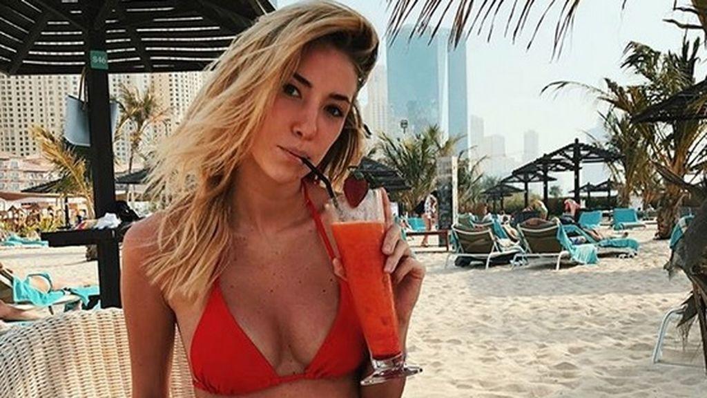 Alice Campello, mujer de Morata, presume de embarazo en Dubai