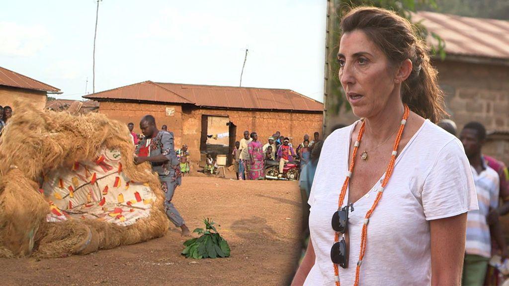 Paz Padilla y Jesús Calleja, testigos de un ritual vudú para evitar la muerte de una mujer