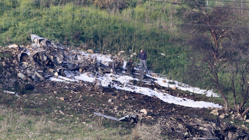 """Los pilotos del F-16 israelí lo derribaron por """"un error operativo"""""""