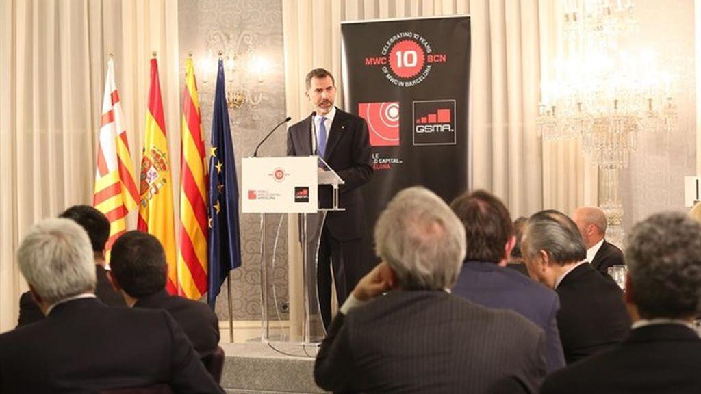 El Rey vuelve a Cataluña por primera vez desde el 1-O para abrir el Mobile World Congress