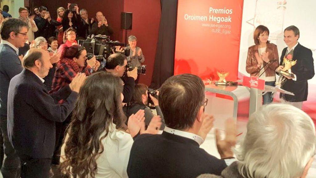 """Zapatero afirma que Euskadi nunca ha estado mejor que ahora """"sin ETA y en paz con España"""""""