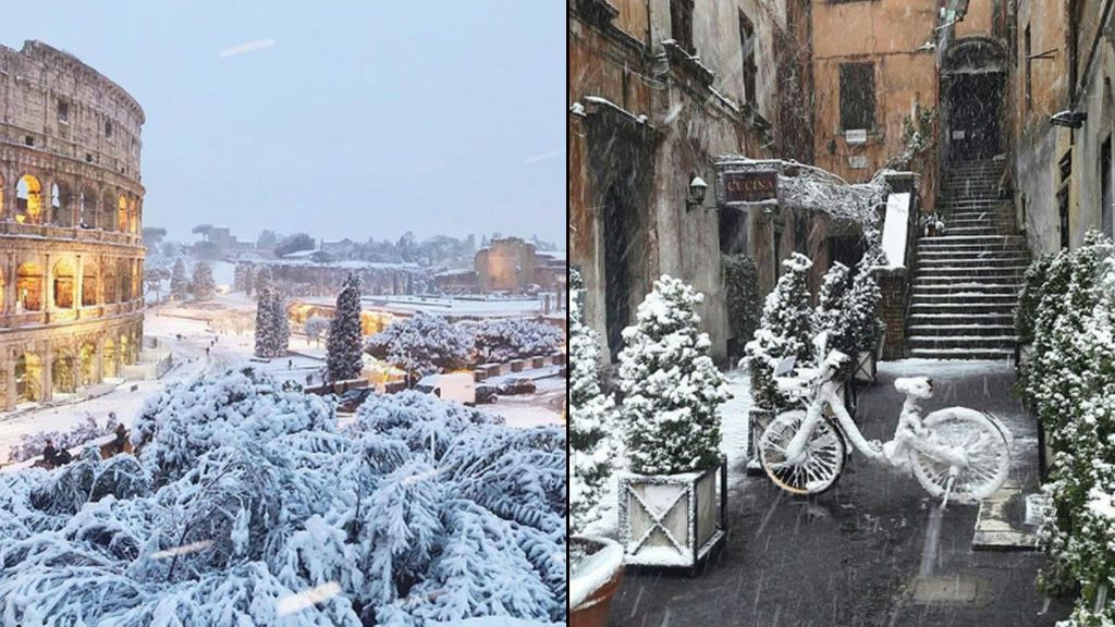 Nieve roma