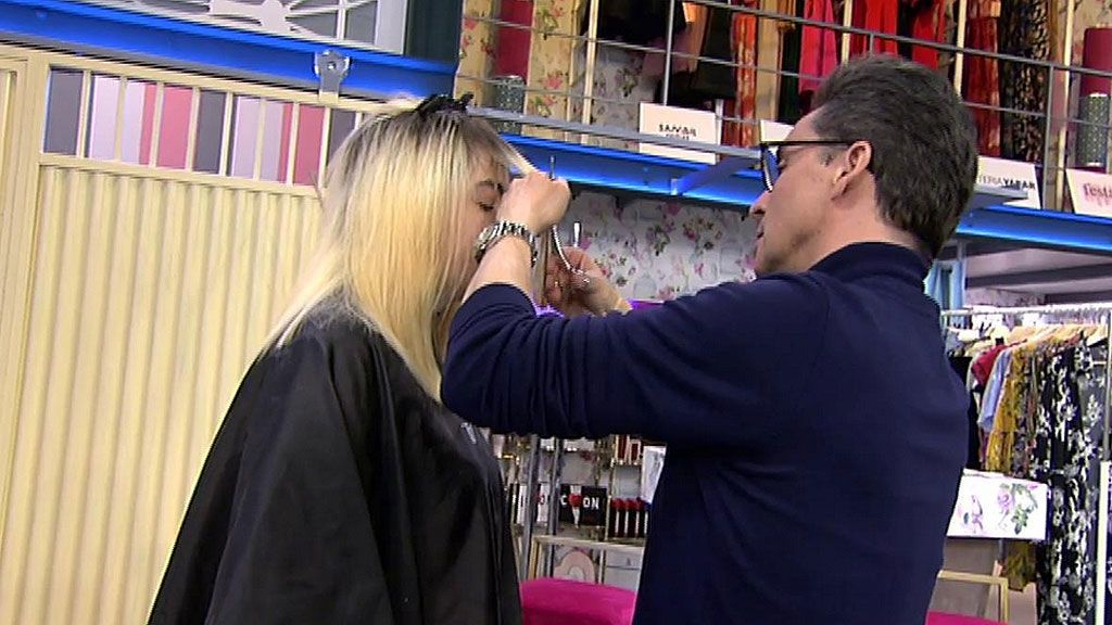 El corte perfecto para sanear un pelo quemado by Moncho Moreno