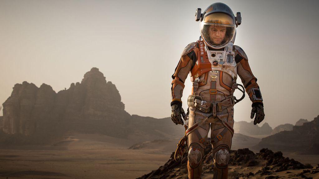Matt Damon protagoniza 'Marte'.