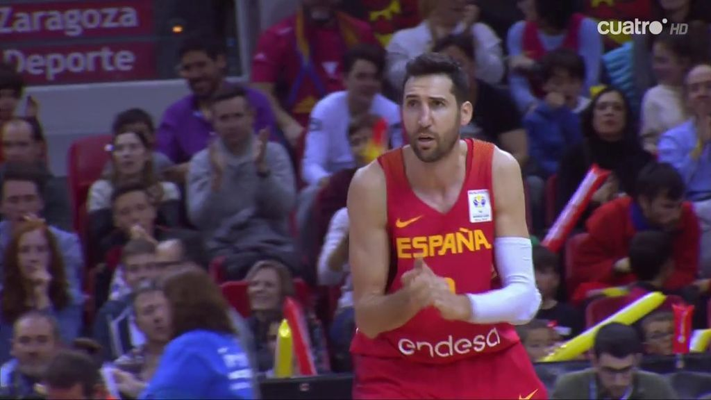 Vidal sentencia a Montenegro con un triple y un pase a Arteaga para un alley oop