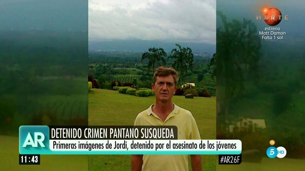 Primeras imágenes del hombre detenido por el doble crimen del pantano de Susqueda