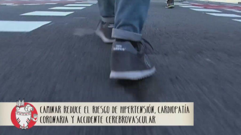 Caminar, el freno vital diario de las enfermedades cardiovasculares