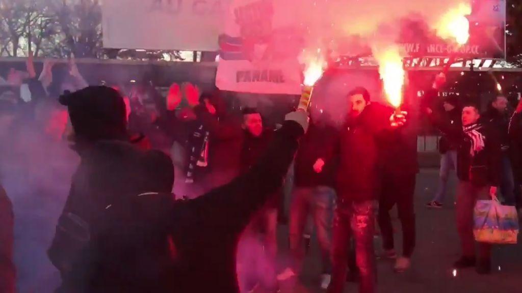 """Los ultras del PSG avisan al Real Madrid: """"Esto será la guerra"""""""