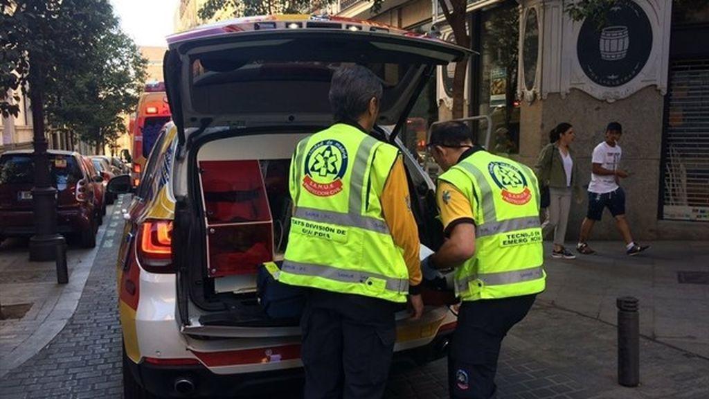 Muere una mujer de 71 años atropellada por un camión en la calle Montalbán