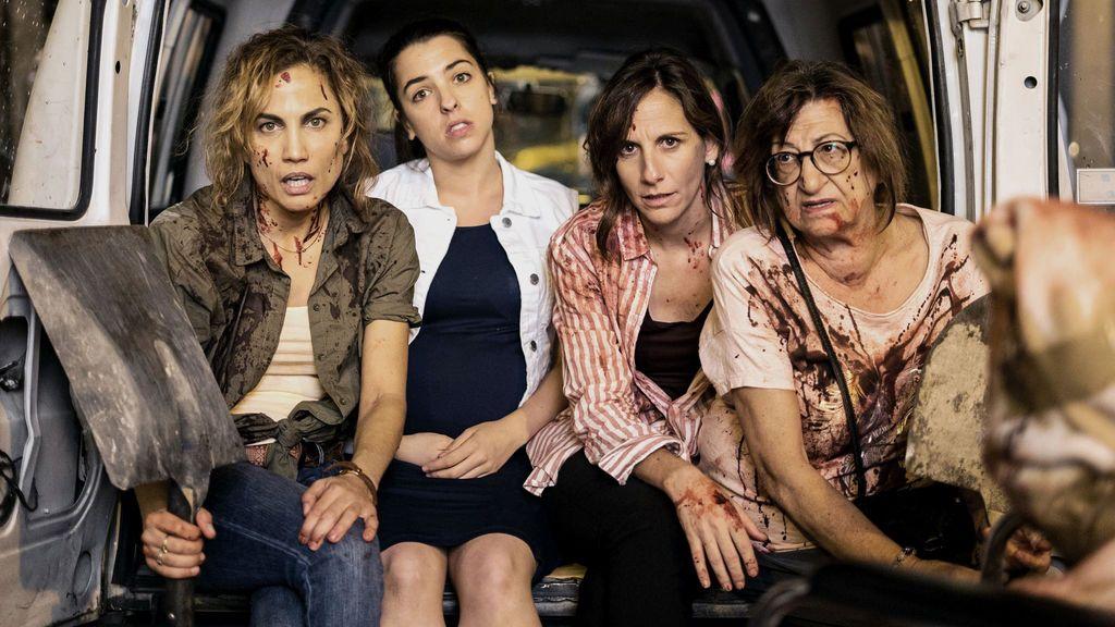 Toni Acosta, Nuria Herrero, Malena Alterio y Mamen García ) protagonizan la nueva serie de Telecinco, 'Señoras del (h)AMPA'.