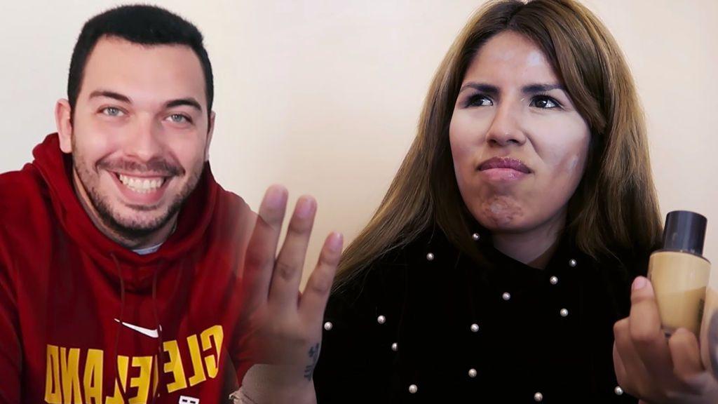 Alberto pone la voz a mi tutorial de maquillaje (1/2)
