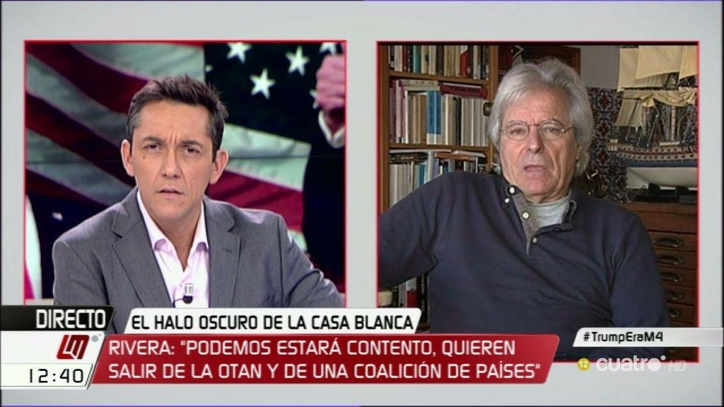"""Javier Nart:""""Trump está diciendo las mismas cuestiones que los populistas de izquierdas"""""""