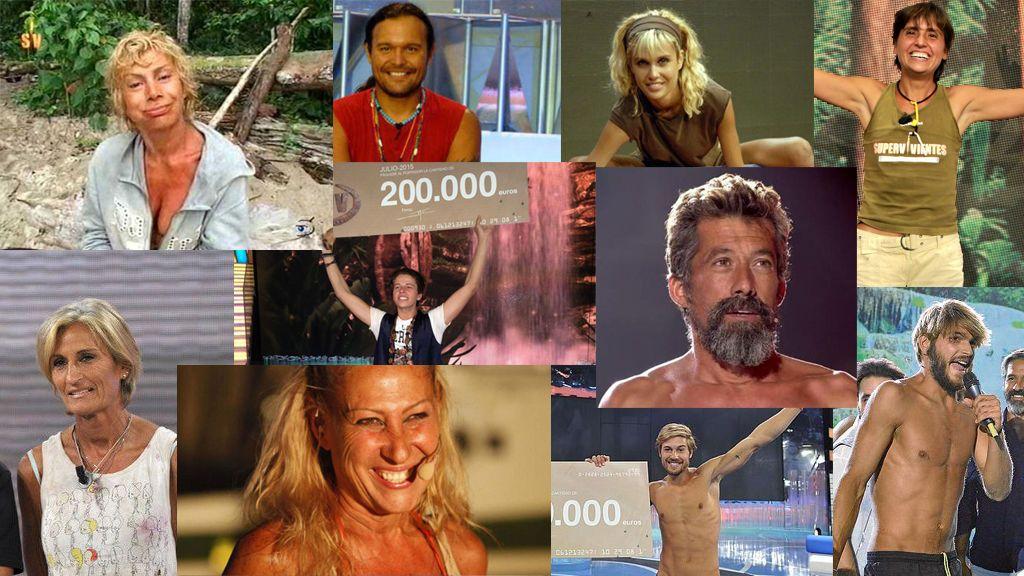 supervivientes ganadores