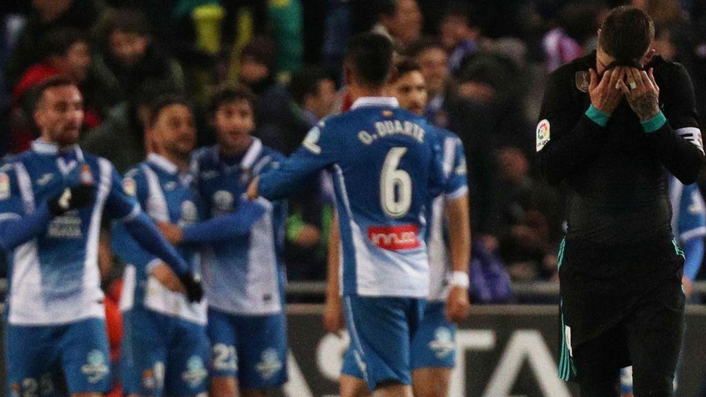 El Madrid echa de menos a Cristiano y pierde ante el Espanyol en Cornellá (1-0)
