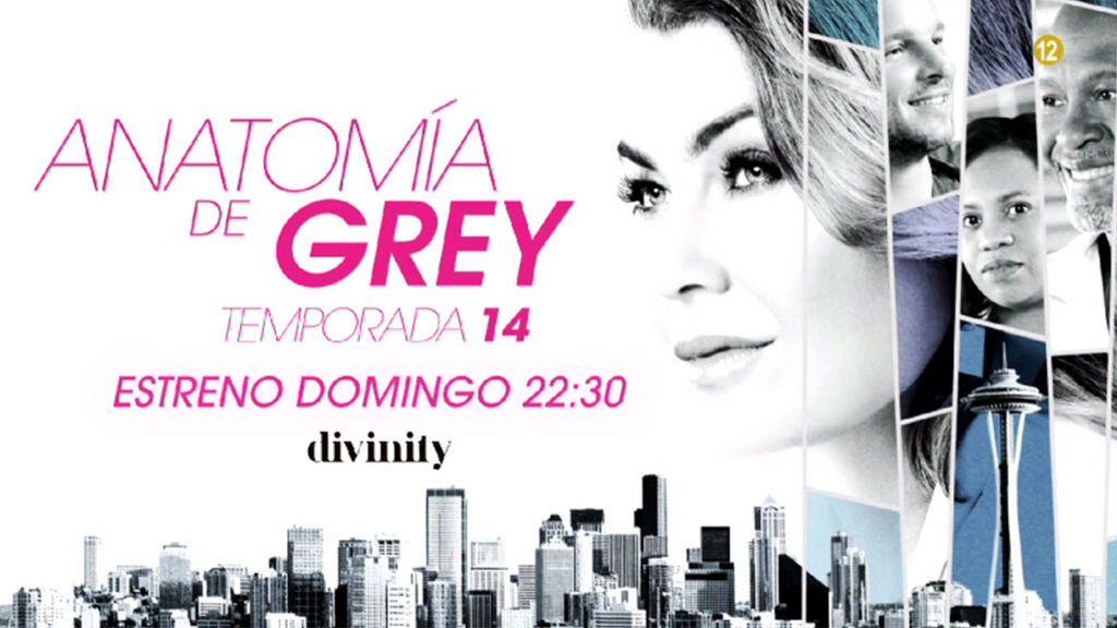 Estreno Anatomía de Grey: el domingo a las 22.30 horas en Divinity