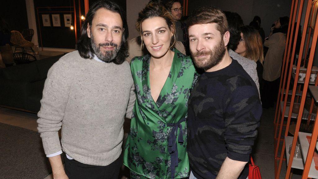 Juanjo Oliva, Eugenia Ortiz y Jeff Bargues